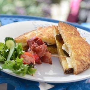 For something small but totally delicious, why not try our Bacon, Avocado & Emmenthal Cheese Toasted Sandwich!