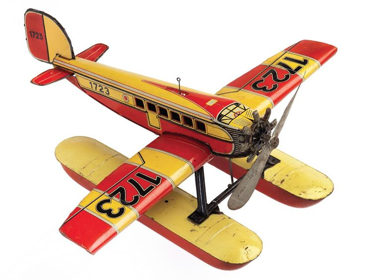 old toy airplanes | My Toy Airplanes – 1910-1960 | Antique Toy World Magazine