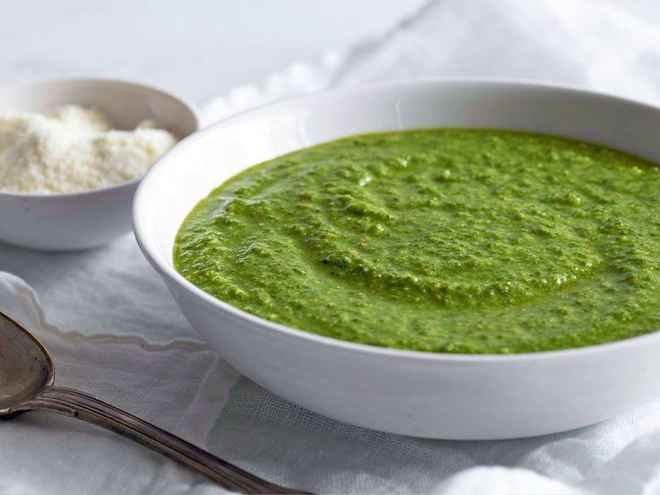 Pesto recipe from Ina Garten via Food Network