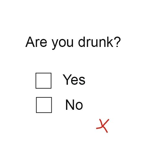 Are you drunk-test