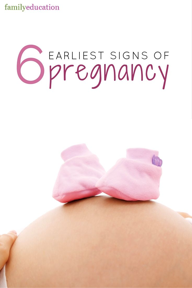 6 Earliest Signs of Pregnancy - Some pregnancy symptoms can begin a just few days after conception, even before a positive pregnancy test would register. So how can you know if you are pregnant before you even miss your period?  Check out these signs that might suggest you've got a bun in the oven.