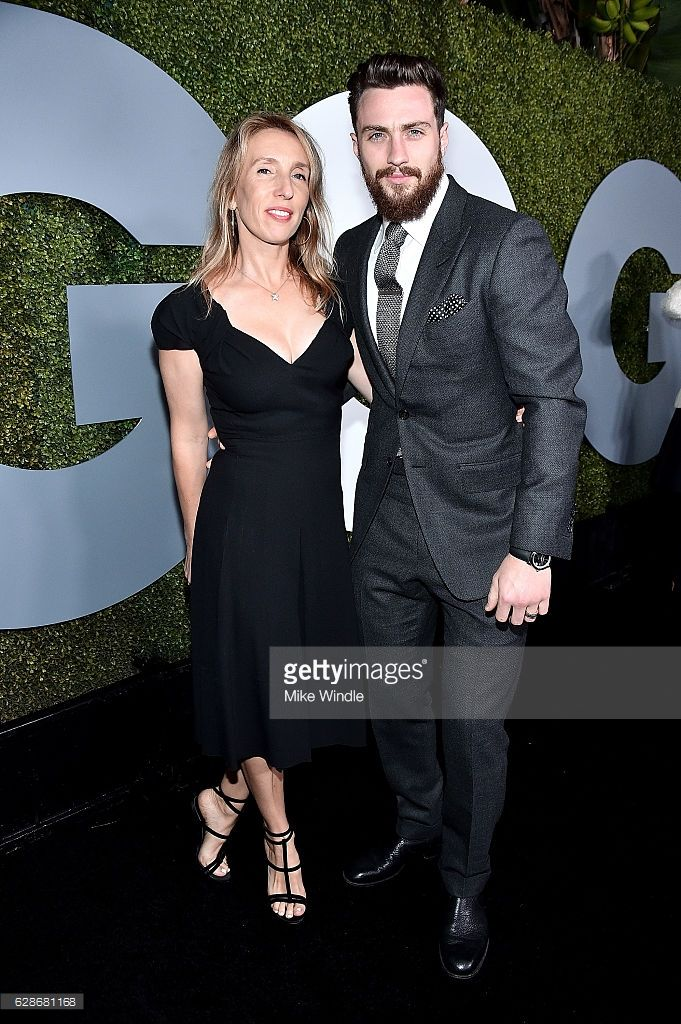 Director Sam Taylor-Johnson (L) and actor Aaron Taylor-Johnson attend the 2016 GQ Men of the Year Party at Chateau Marmont on December 8, 2016 in Los Angeles, California.  (Photo by Mike Windle/Getty Images for GQ)