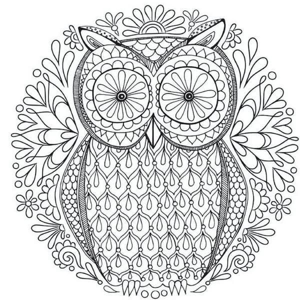 100 Mandalas De Animales Para Imprimir Y Colorear Ideal Para Los