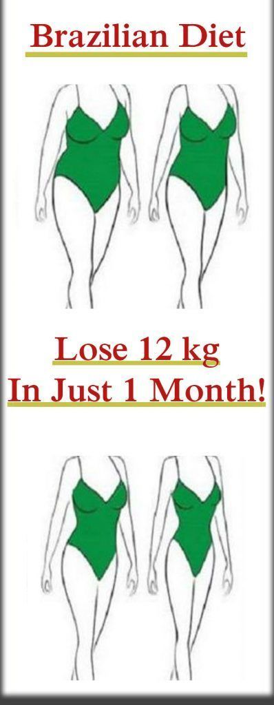 A MUST TRY BRAZILIAN DIET – LOSE 12 KG IN 1 MONTH!!!!
