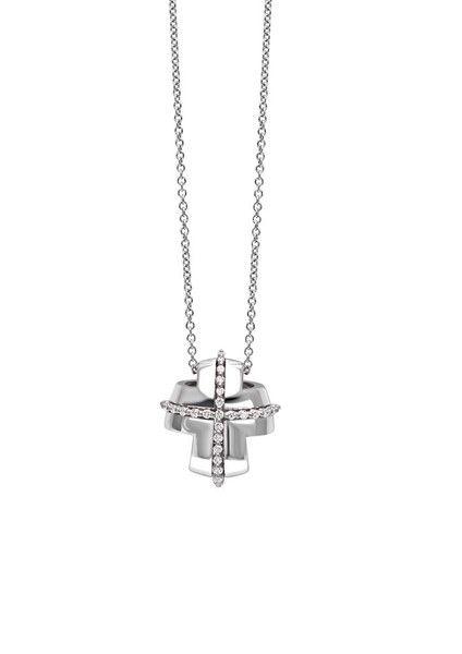 Collana Oro Bianco Diamanti Recarlo Lucrezia ZTM339/2BM