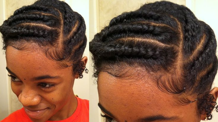 Natural Hair | Flat Twist Protective Style...I sooo want to try this http://youtu.be/Mzp-W7fQidk