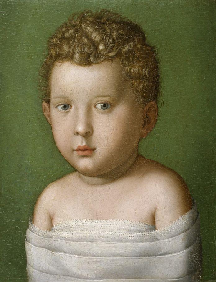 Portrait of a Baby Boy, ca. 1540-49, Agnolo Bronzino (Italian, 1503-1572)
