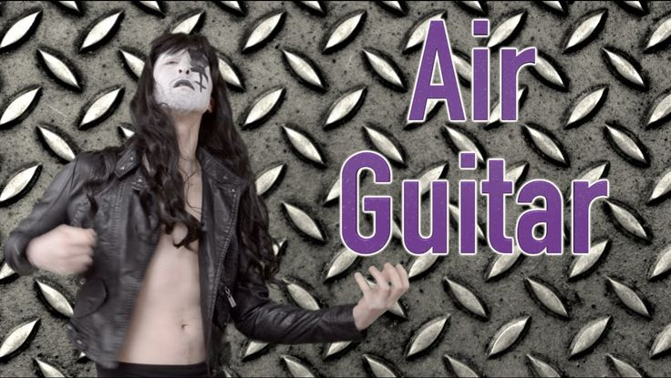 Air Guitar - Parody Advert