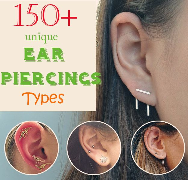 Top 150+ Ear Piercing Types