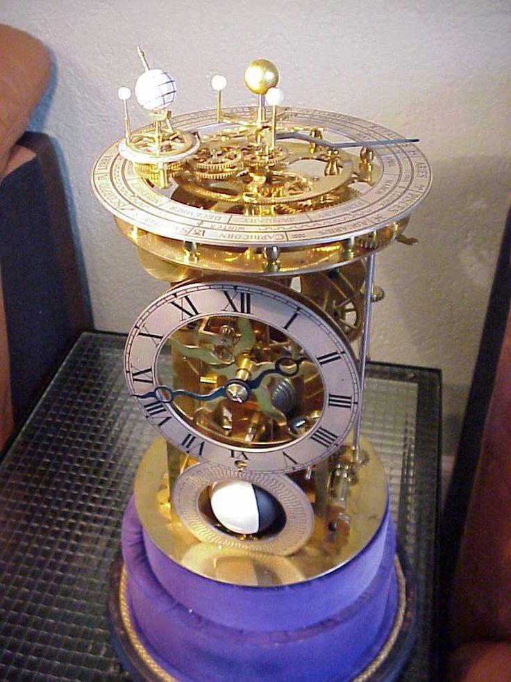 Clock and Orrery - close ups (http://www.horology.com/h-orrey.html)