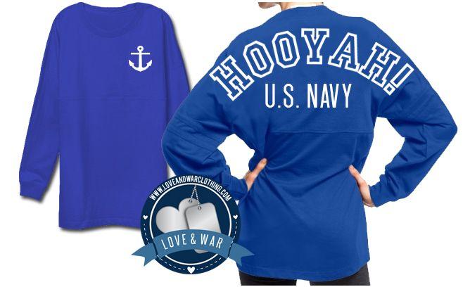Hooyah! U.S. Navy Varsity Crew - LOVEANDWARCLOTHING