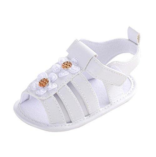 Oferta: 1.63€. Comprar Ofertas de Zapatos de bebé, Switchali zapatos bebe niña primeros pasos verano Recién nacido Cuna Flor Suela blanda Antideslizante Zapati barato. ¡Mira las ofertas!