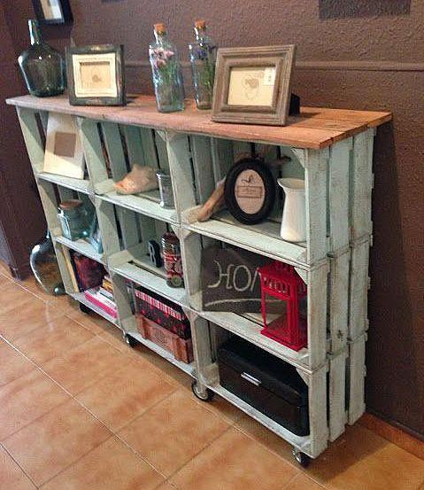 Что можно сделать из ящиков деревянных
