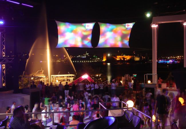 Halicarnassus night club in Bodrum Turkey - Europe's Largest Disco