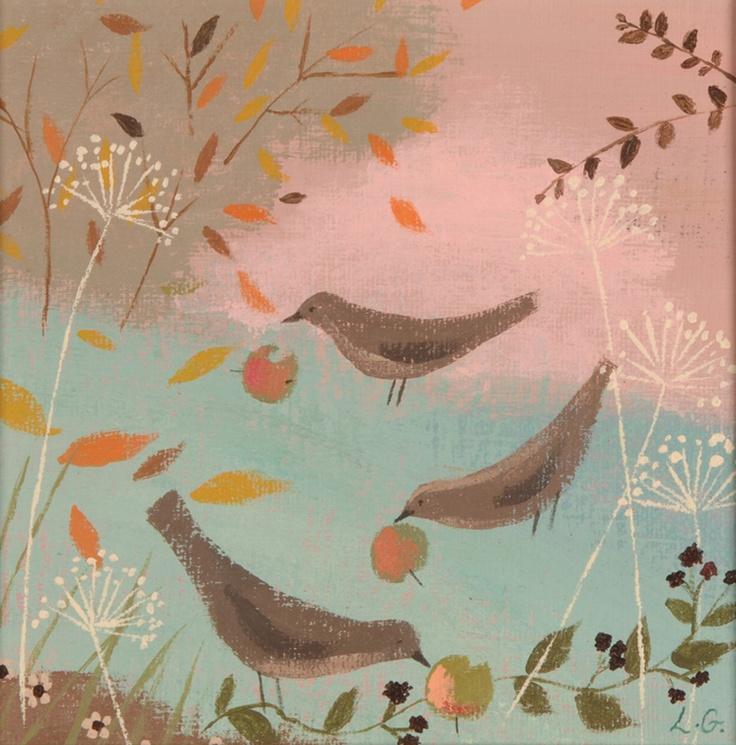 Autumn garden - Lucy Grossmith
