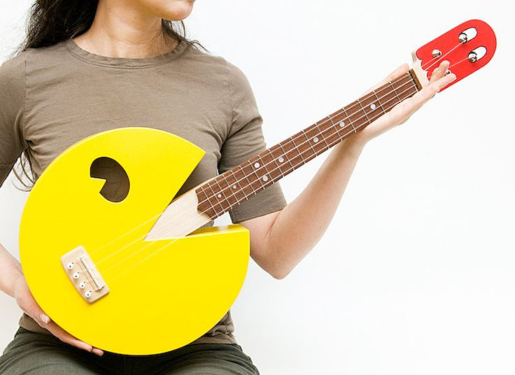 Take some power pellets and play some soothing ukelele music. - http://noveltystreet.com/item/17009/