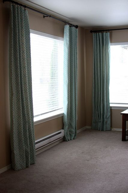 Living Room Drapes Tutorial