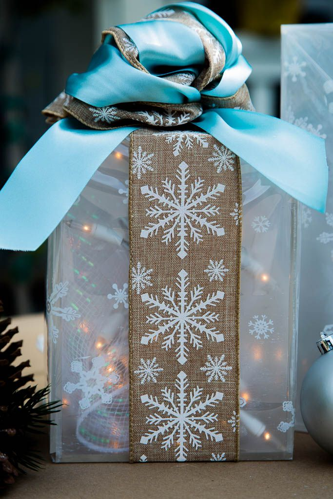 Tanya makes an Outdoor Lighted Gift Box! Catch #homeanfamily weekdays at 10/9c on Hallmark Channel!