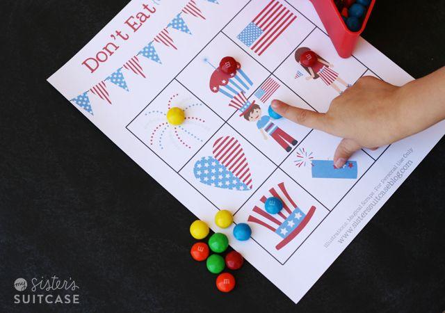 july 4th children's games