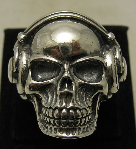 R001003+Bague+Argent+Massif+925+Tete+de+mort++DJ+de+Empress+-+bijoux+en+argent+sur+DaWanda.com