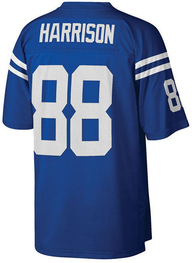 Mitchell & Ness Men's Marvin Harrison Indianapolis Colts Replica Throwback Jersey