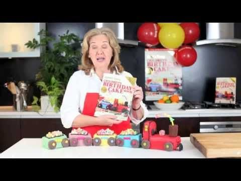 Video: How to make The Australian Women's Weekly train birthday cake
