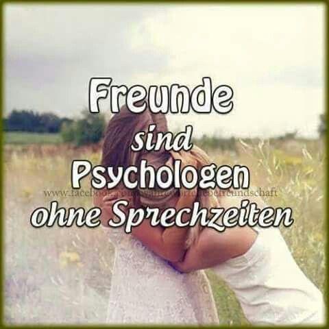 ...Freunde sind Psychologen...