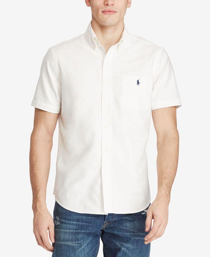 Polo Ralph Lauren Men's Short-Sleeve Oxford Shirt