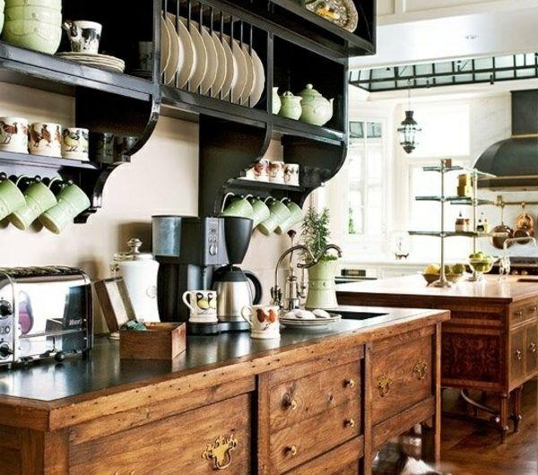 cuisine-en-bois-ancien