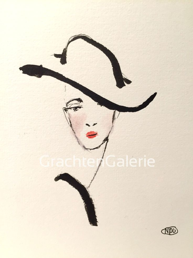 Noortje den Oudsten | Woman 12 | tekening | kunst | illustratie | mode | aquarel | kunstcadeau | drawing | art | illustration | fashion | present | woman