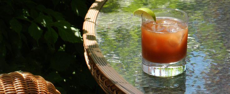 Agua de Tamarindo (Iced Tamarind Drink)