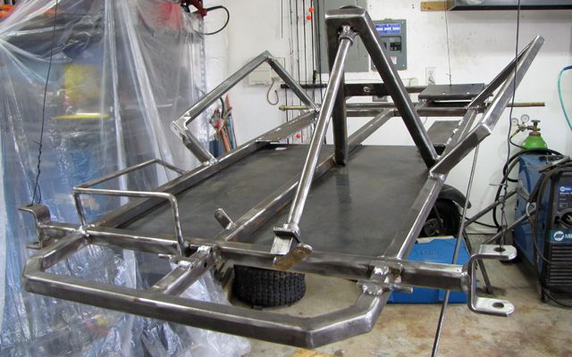 Truck Bench Seat Frame