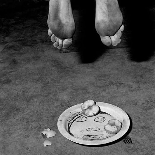 Roger Ballen, Boarding House, Fragments, 2005