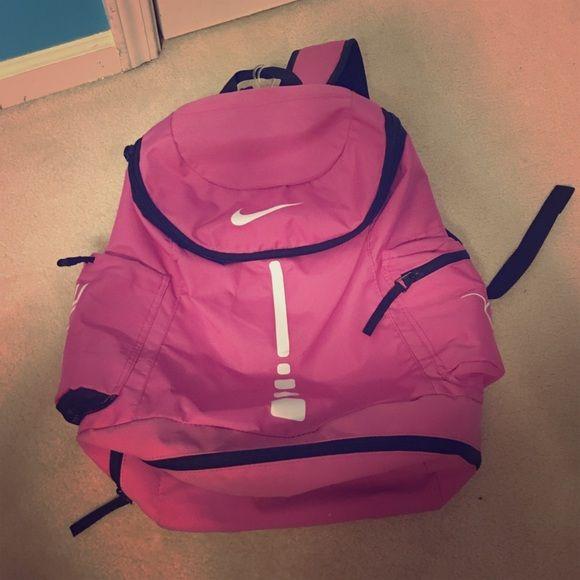 Pink Nike Basketball Backpack Pink breast cancer Nike Elite basketball bag/backpack Nike Bags Backpacks