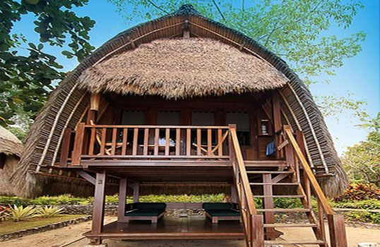 Bali's best accommodation, hotel romantic bungalow – Lumbung Bali Huts