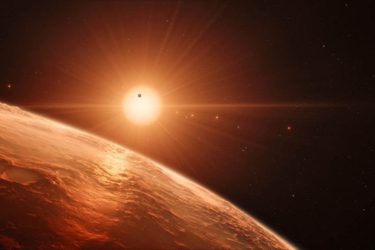 Four new Earth-sized exoplanets have been discovered orbiting a star about 40 light-years away - and each may contain liquid water and be able to sustain life, astronomers from NASA and the European Southern Observatory said Wednesday. A Belgian-led team was able to spy these planets using space- and ground-based telescopes as they passed in front of their host, a red dwarf star known as TRAPPIST-1.