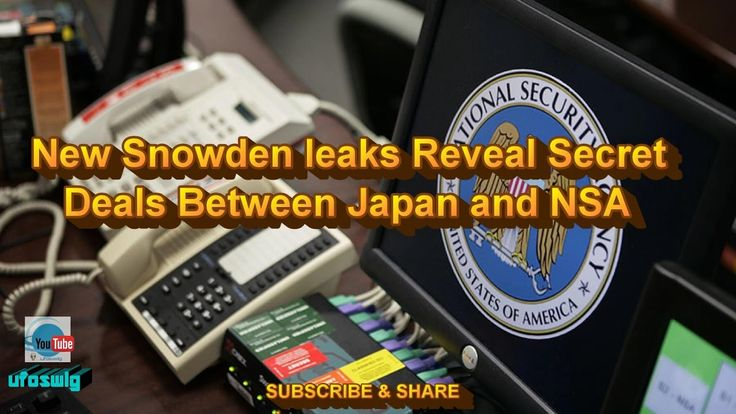 4.26  New Snowden Leaks Reveal Secret Deals Between Japan and NSA