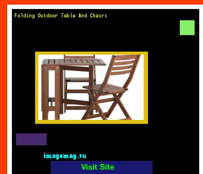 Folding Outdoor Table And Chairs 141506 - The Best Image Search