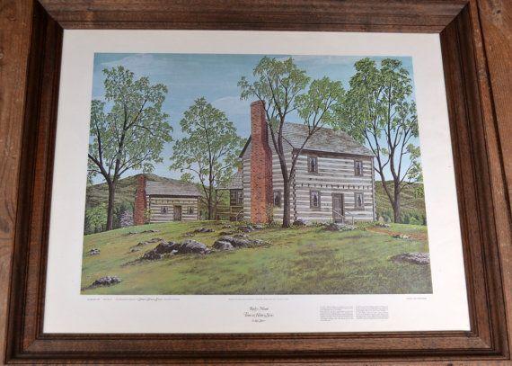 Vintage Framed Print Louis Spitzer Rocky Mount The