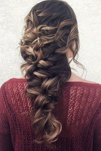101 Pinterest Braids That Will Save Your Bad Hair Day | Messy Mermaid Braid