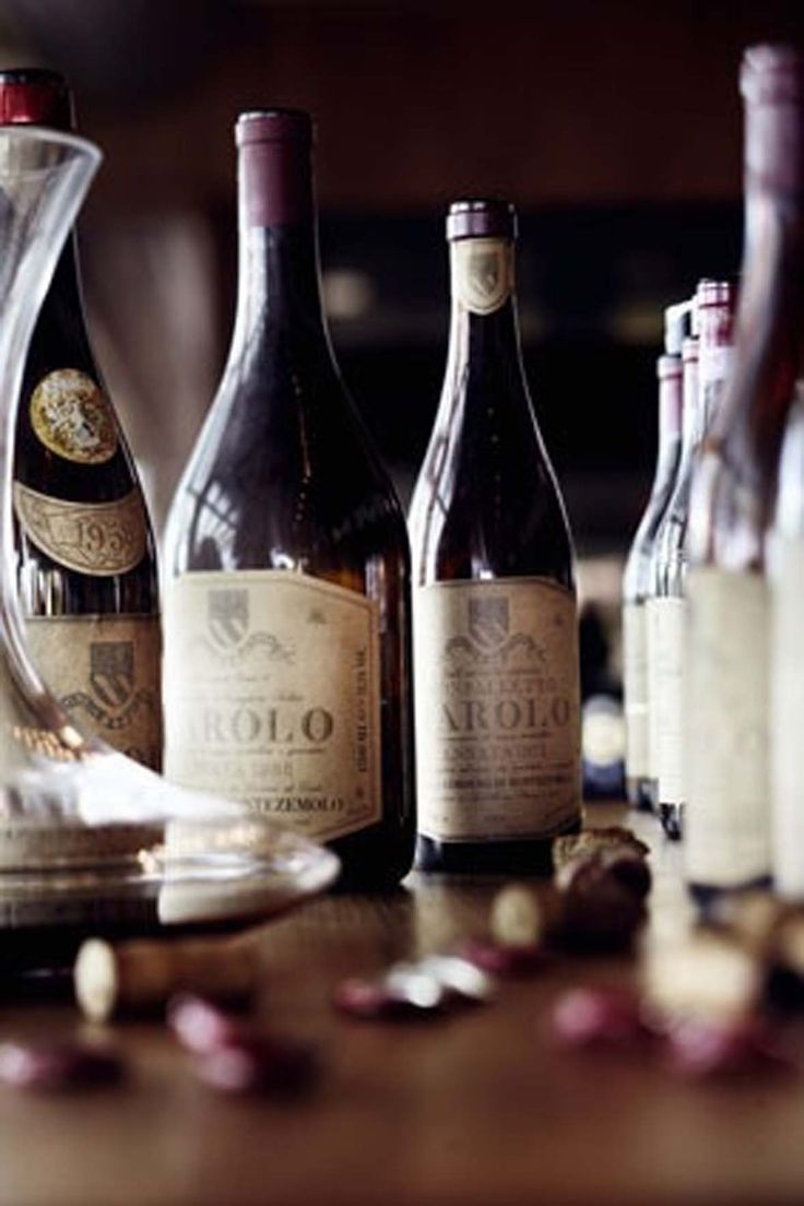 Barolo {a wine so big, it will knock you out of your chair}