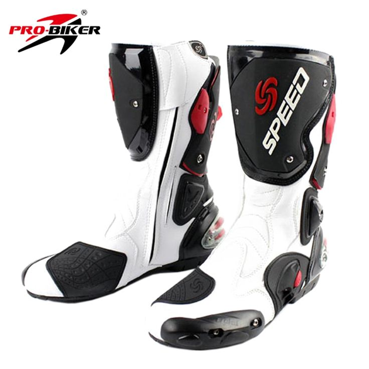 99.18$  Buy here - http://alicv6.worldwells.pw/go.php?t=2024135944 - PRO-BIKER SPEED BIKERS Men Motorcycle Riding Boots Mid-Calf Racing Boots Motocross Off-Road Boots Motorbike Dirt Bike Shoes 99.18$