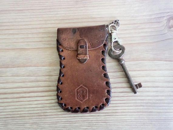 Leather Key Holder Vintage Bulgarian Key Holder Vintage