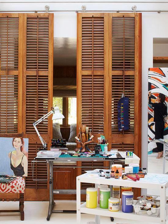 Easy DIY Interior Shutters Projects   Amusing Decoration Ideas, Build Plantation  Shutters, Diy Plantation Shutters Plans, Do It Yourself Exterior Shutters,  ...