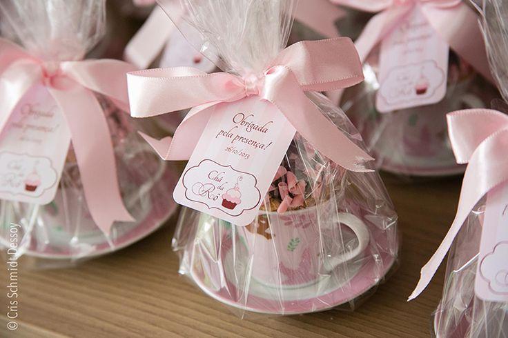 Lembrancinha de chá de panela | Cup cake na xícara