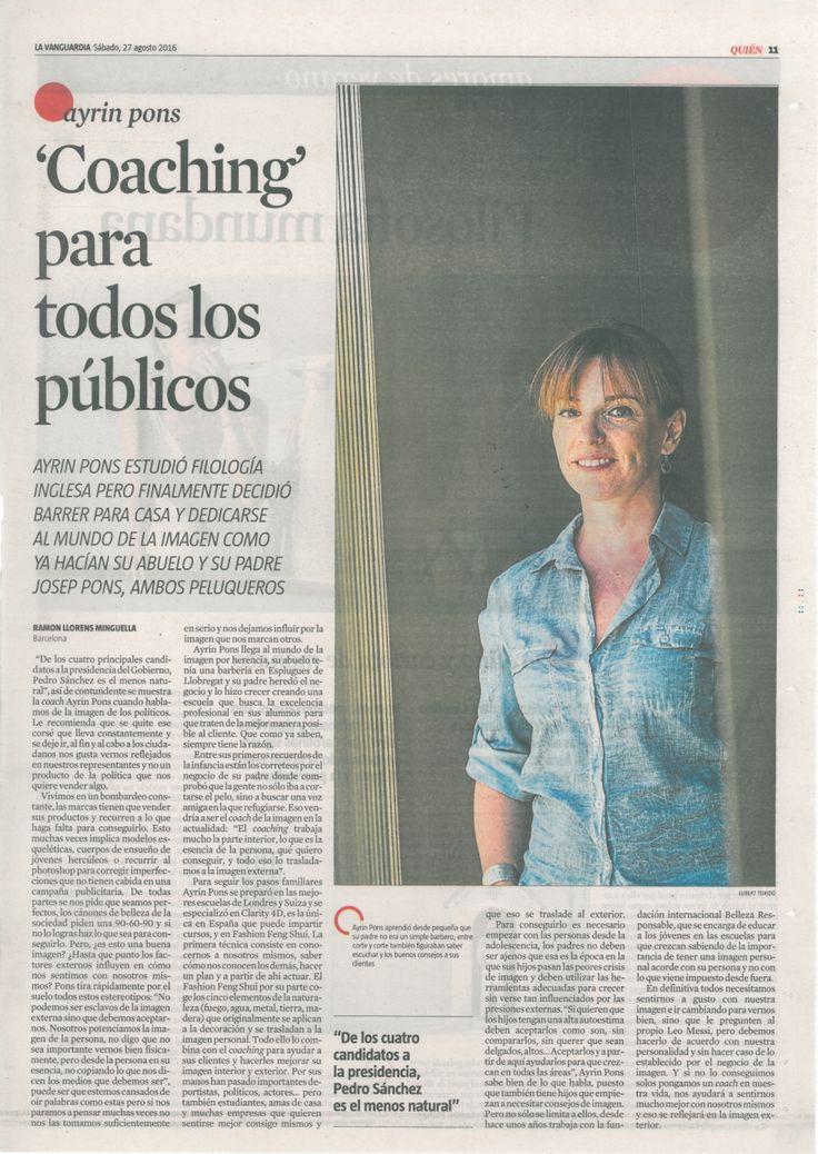 El Coaching es para todos es lo que nuestra Master Coach, Ayrín Pons, nos habla firme y contundente de la imagen de los políticos y les recomienda como deberían mostrarse para ser mas cercanos a las personas