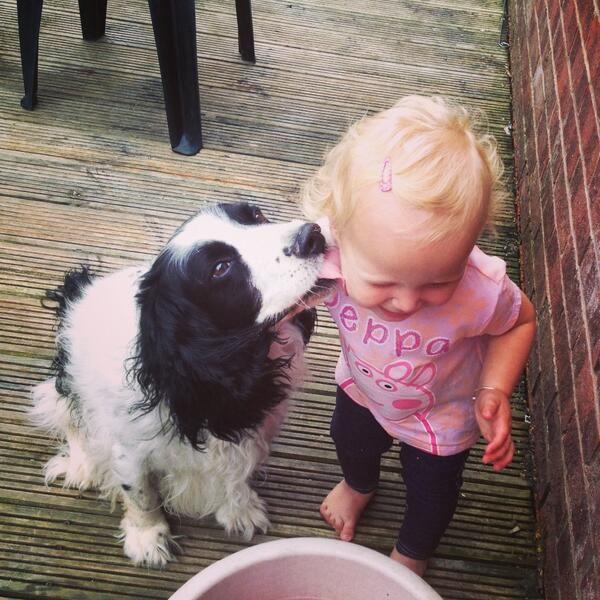 Lyla loves her dog and her dog loves Lyla. #MyDogLoves #Bestinthecountry
