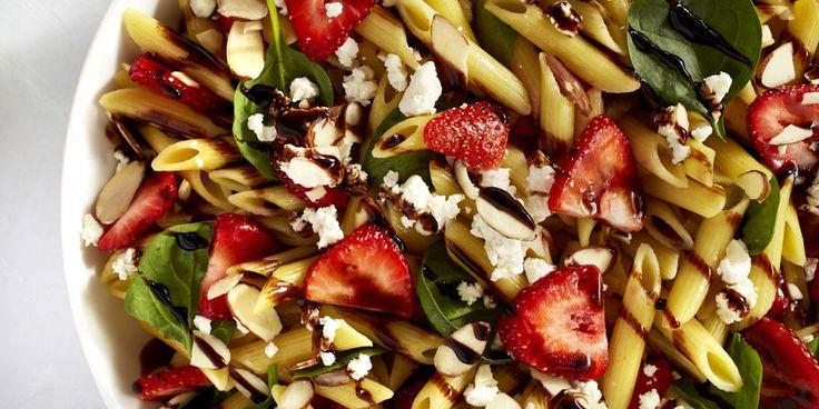 Strawberry Balsamic Pasta Salad  - Delish.com