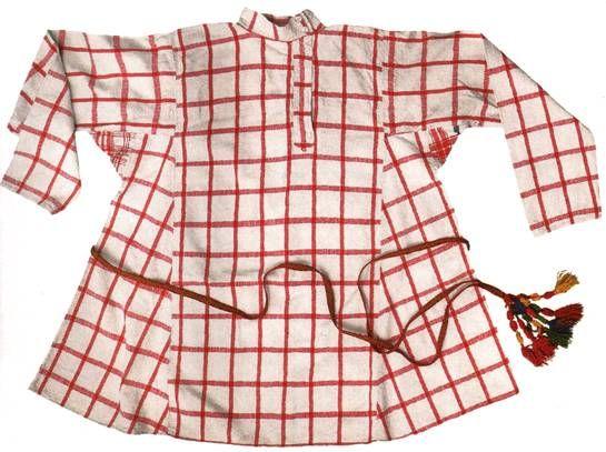 Мужская свадебная рубаха. 1920-е гг. Курская губерния, Суджанский уезд