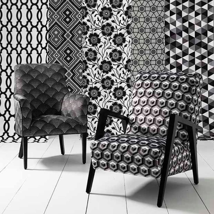 Warwick Fabrics : MONOCHROME